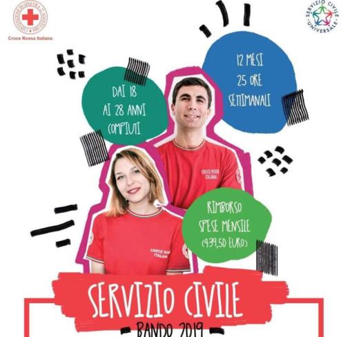 Servizio civile alla Croce Rossa: opportunità per 8 giovani