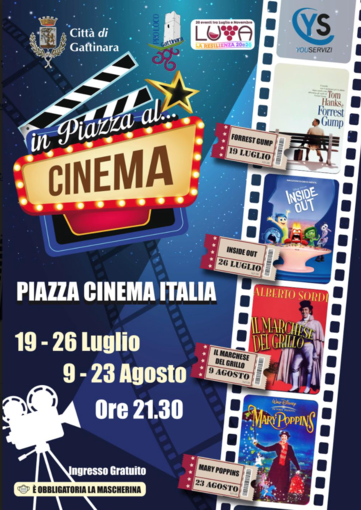 Quatto appuntamenti con il cinema all'aperto