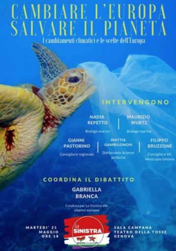 Cambiare l'Europa e Salvare il pianeta, la candidata Maria Gabriella Branca (La Sinistra) e il tema del clima