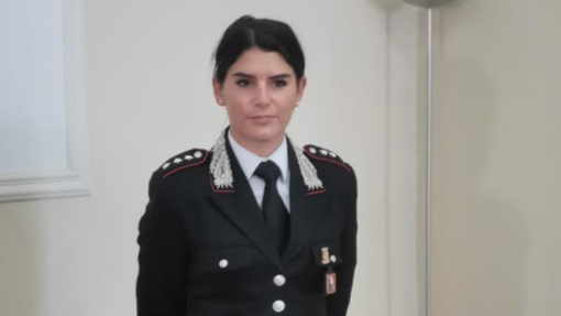 Il capitano Annalisa Menga