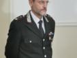 Il colonnello Walter Cappelli, comandante della Compagnia di Vercelli