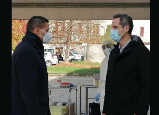 Il sindaco Cappuccio insieme al manager Angelo Penna
