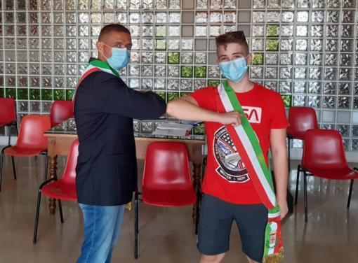 """Il sindaco Cappuccio e il """"sindachino"""" Andrea Cillo"""