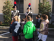 Le scolaresche in visita alla caserma di Vercelli