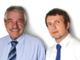 I consiglieri regionali Giovanni Corgnati e Gabriele Molinari