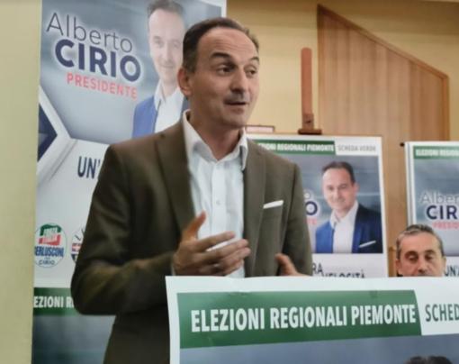 Alberto Cirio, candidato presidente della Regione
