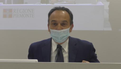 Cirio: «I dati epidemiologici migliorano; Piemonte verso la zona arancione»