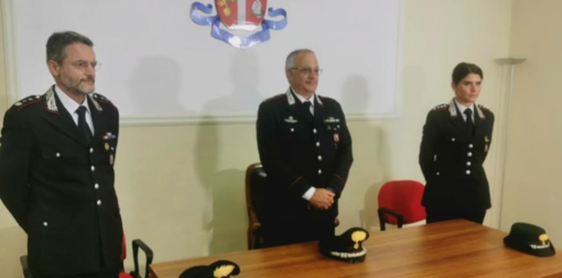 Da sin: il colonnello Cappelli, il colonnello Ronchey e il capitano Menga
