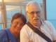 Una bella foto di Corrado Fronte e della moglie Raffaella Amato