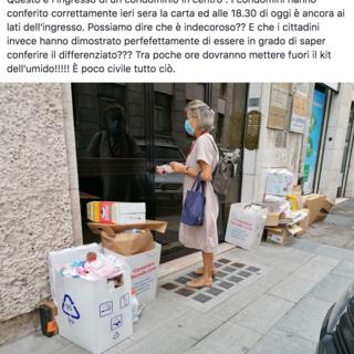 """""""Sanzionare Asm se non ritira i rifiuti esposti correttamente"""""""