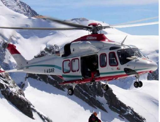 Incidenti sulle piste da sci: tre interventi dell'elisoccorso