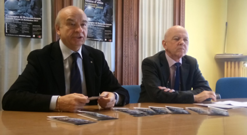 Pier Giorgio Fossale e Michele Di Francesco alla presentazione del convegno