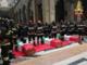 L'ultimo saluto ai vigili del fuoco morti nell'esplosione di Quargnento