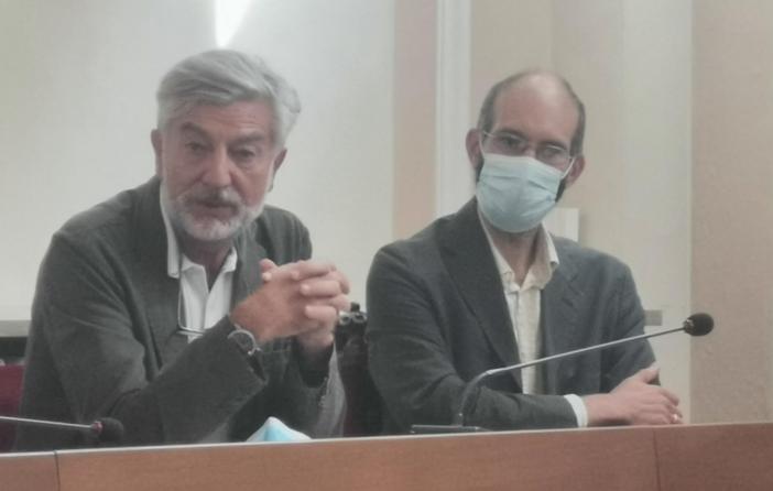 Il professor Fabrizio Faggiano e lo psicologo Alessandro Coppo