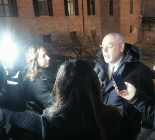 L'avvocato Enrico Faragona all'uscita dal Tribunale