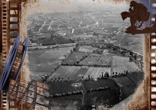 In copertina una foto storica della Chiesa del Sacro Cuore-archivio salesiani Vercelli e del bombardamento del rione