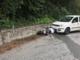 Auto contro moto: centauro ferito
