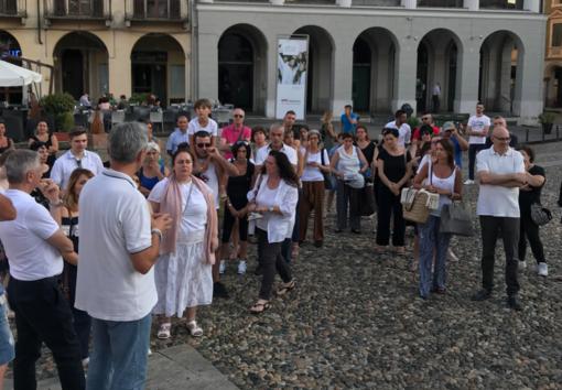 Caso Bibbiano, incontro e flash mob