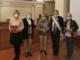 Wanna Goaddi, Roberta Rossi e Valeria Simonetta con il sindaco e l'assessore Olivetti