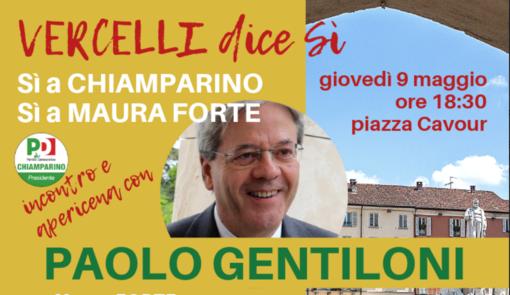 Elezioni 2019: arriva l'ex premier Paolo Gentiloni