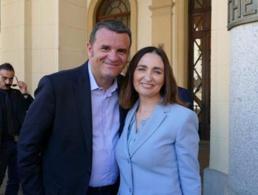 Gianna Gancia e il ministro Gian Marco Centinaio