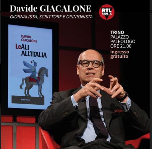 I sentieri della conoscenza: incontro con Davide Giacalone