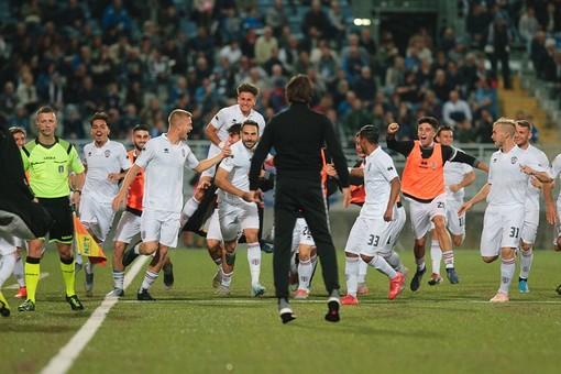 Pro Vercelli-Pontedera 3 a 1
