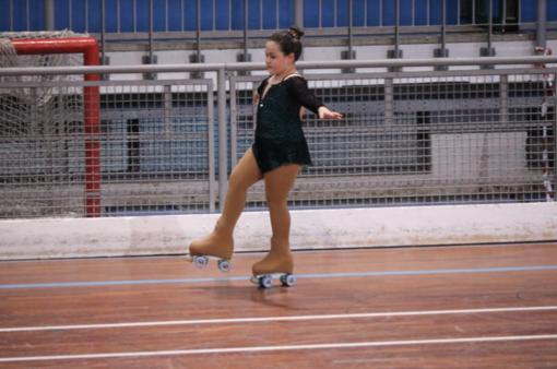 Skating Vercelli: per Greta Giolo oro al trofeo nazionale Aics