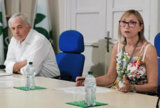 Paolo Guttardi e Lella Bassignana