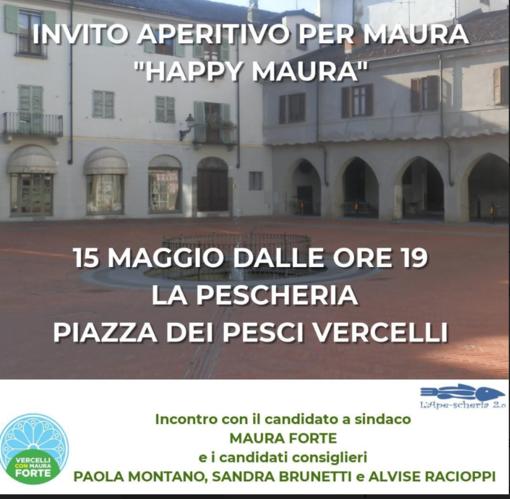 Happy Maura in Piazza dei Pesci
