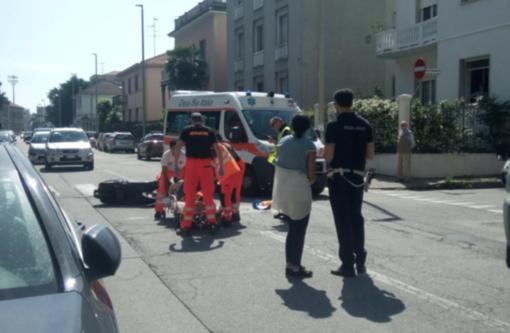 Ferito in un incidente Gianpiero Borzoni
