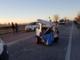 Incidente tra Vercelli e Novara: due feriti - FOTO