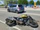 Scontro tra auto e moto: centauro in ospedale