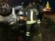 Auto ribaltata fuori strada: persona in ospedale