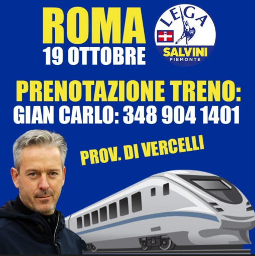 Lega a Roma per la manifestazione di sabato: le adesioni