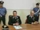 Il colonnello Fabio Longhi e il tenene Luigi De Bernardinis del nucleo investigativo