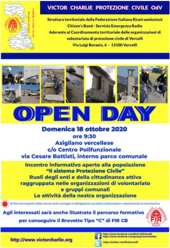 Victor Charlie: open day dedicato alla Protezione civile