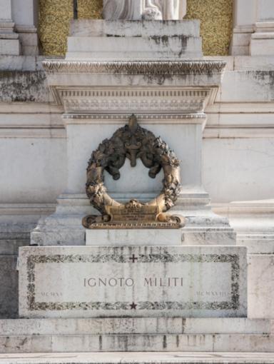 L'altare della Patria che ospita il Milite Ignoto