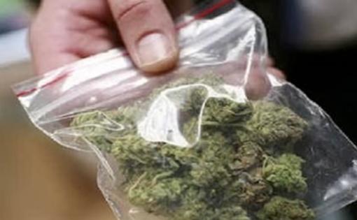 Un etto e mezzo di marijuana nascosto in camera da letto