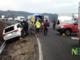 Mottalciata: incidente in superstrada. Automobilista in codice rosso