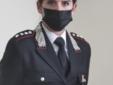 Il capitano Annalisa Menga, comandante della compagnia di Borgosesia