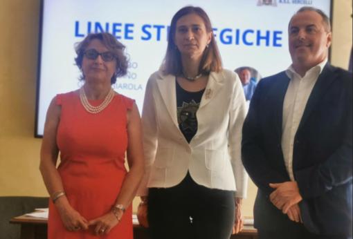 Da sinistra: Fulvia Milano, Eva Colombo, Gabriele Giarola