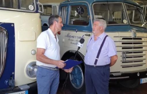"""Carlo Marazzato: """"Camion d'epoca? Che passione!"""" VIDEO"""