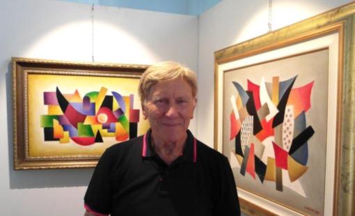 Il pittore Victor Nomin