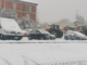 Neve sulla città: circolazione rallentata e niente mercato - foto