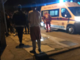 Furgone fuori strada: due persone in ospedale