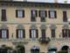 Palazzo Castellani, che si affaccia sulla piazza centrale di Borgosesia