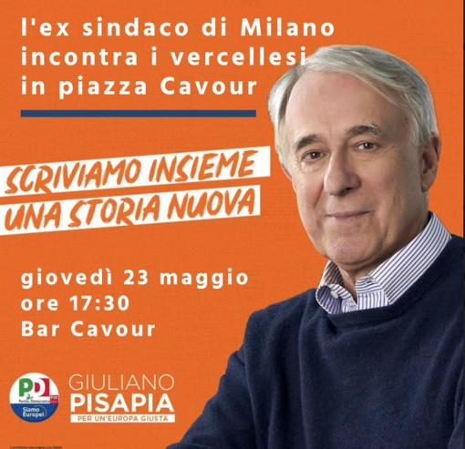 Pd: appuntamento con Giuliano Pisapia