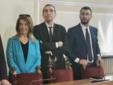 Ketty Politi, Luigi Michelini ed Emanuele Pozzooo