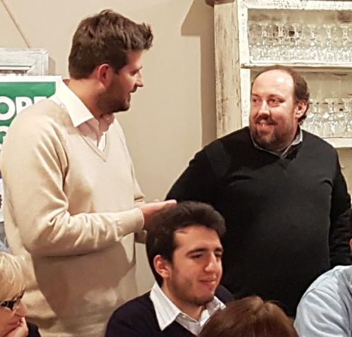 Paolo Tiramani, Michele Pairotto e Fausto Valdo in una foto di qualche mese fa